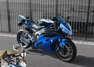 Motorrad Designlackierung