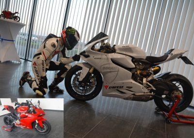 Motorrad Komplettlackierung