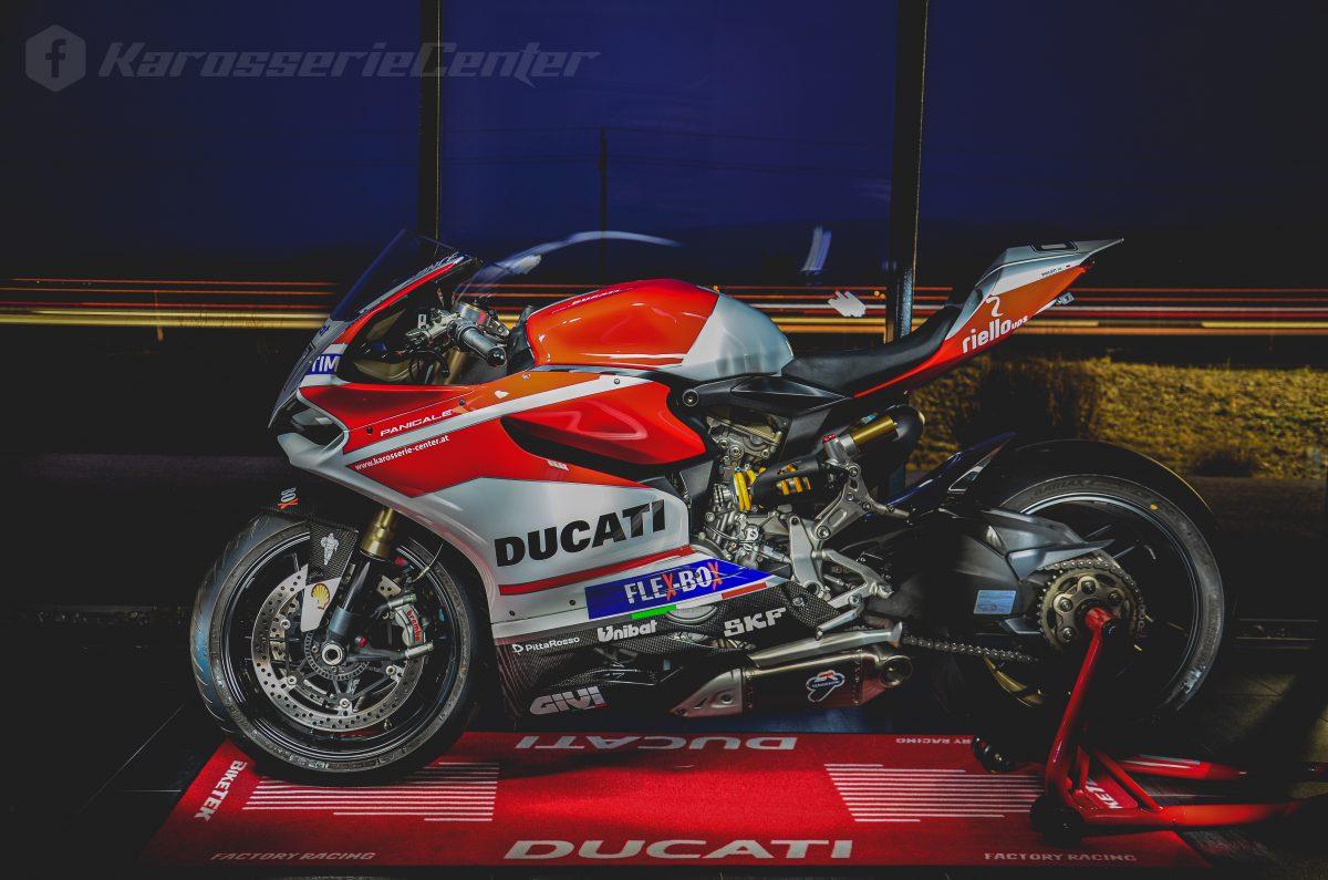 MotoGP Designlackierung